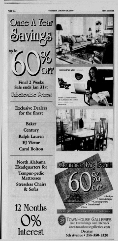 Athens News Courier, January 29, 2009, Page 32