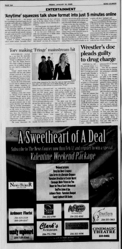 Athens News Courier, January 30, 2009, Page 31