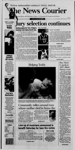 Athens News Courier, January 30, 2009, Page 2