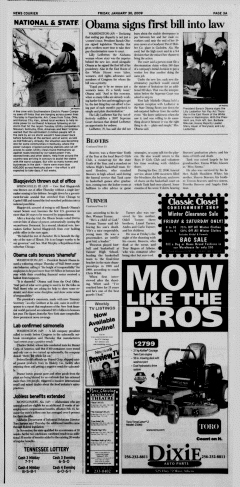 Athens News Courier, January 30, 2009, Page 6