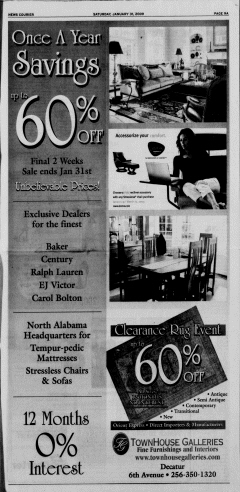 Athens News Courier, January 31, 2009, Page 17