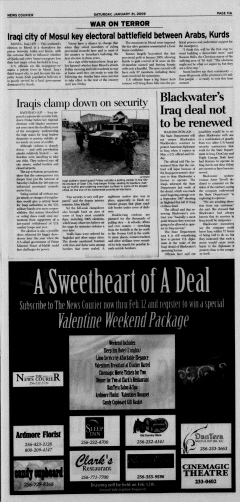 Athens News Courier, January 31, 2009, Page 21
