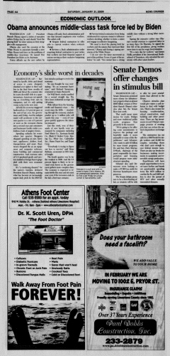 Athens News Courier, January 31, 2009, Page 8