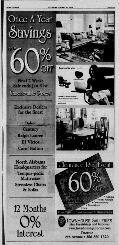Athens News Courier, January 31, 2009, Page 18