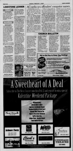 Athens News Courier, February 01, 2009, Page 31