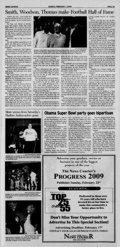 Athens News Courier, February 01, 2009, Page 38