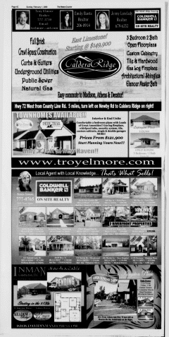 Athens News Courier, February 01, 2009, Page 48