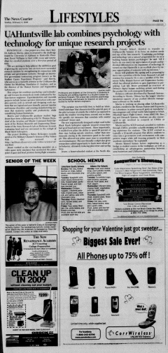 Athens News Courier, February 08, 2009, Page 17
