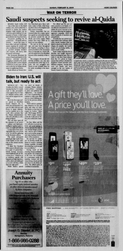Athens News Courier, February 08, 2009, Page 16
