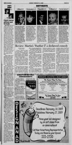 Athens News Courier, February 08, 2009, Page 22
