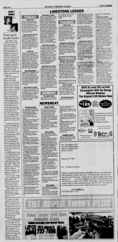 Athens News Courier, February 14, 2009, Page 7