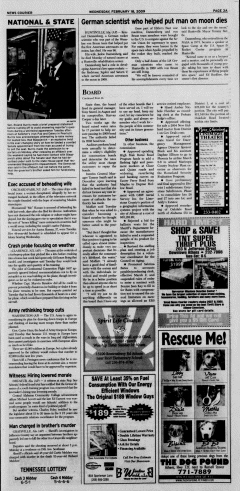 Athens News Courier, February 18, 2009, Page 5