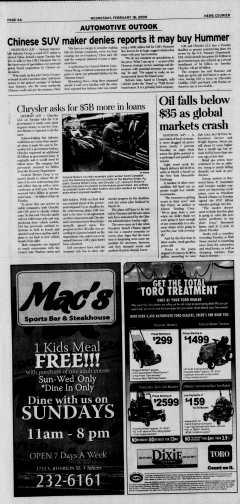 Athens News Courier, February 18, 2009, Page 11