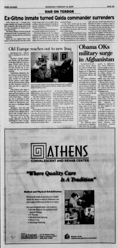Athens News Courier, February 18, 2009, Page 17