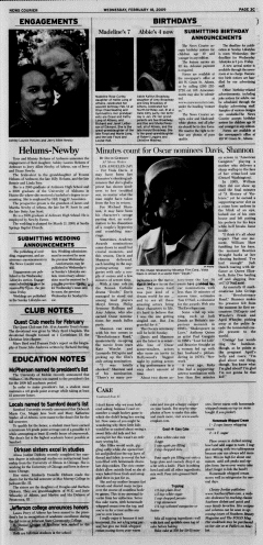 Athens News Courier, February 18, 2009, Page 41