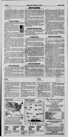 Athens News Courier, February 18, 2009, Page 4