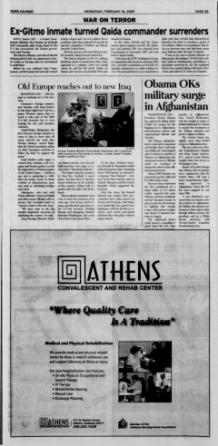 Athens News Courier, February 18, 2009, Page 18