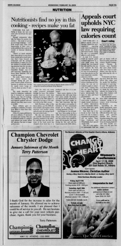 Athens News Courier, February 18, 2009, Page 22