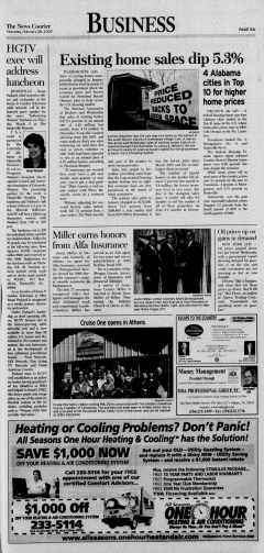 Athens News Courier, February 26, 2009, Page 9