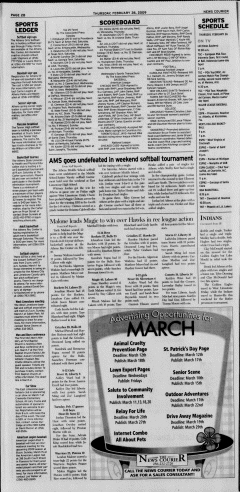 Athens News Courier, February 26, 2009, Page 23