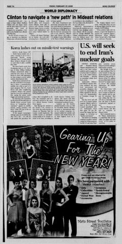 Athens News Courier, February 27, 2009, Page 14