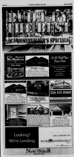 Athens News Courier, February 28, 2009, Page 11
