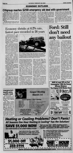 Athens News Courier, February 28, 2009, Page 15