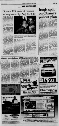 Athens News Courier, February 28, 2009, Page 21