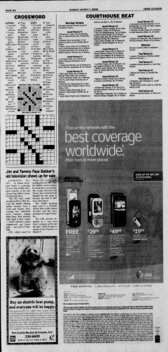 Athens News Courier, March 01, 2009, Page 15