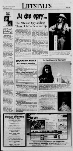 Athens News Courier, March 01, 2009, Page 17