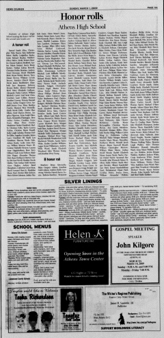 Athens News Courier, March 01, 2009, Page 21