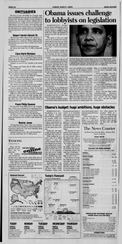 Athens News Courier, March 01, 2009, Page 4