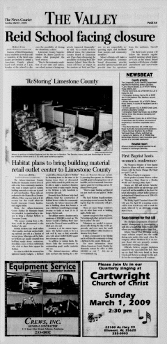 Athens News Courier, March 01, 2009, Page 12
