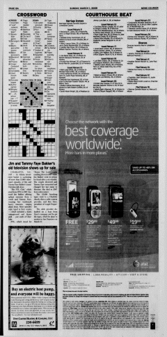 Athens News Courier, March 01, 2009, Page 16