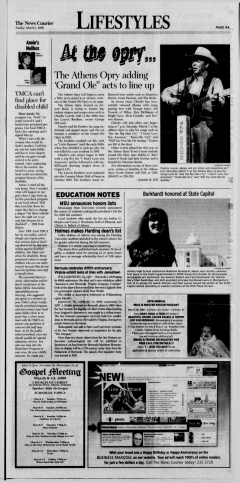 Athens News Courier, March 01, 2009, Page 18
