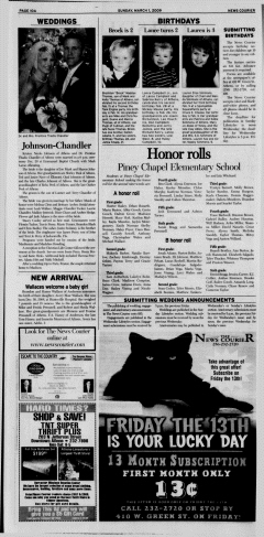 Athens News Courier, March 01, 2009, Page 20