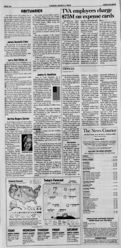 Athens News Courier, March 03, 2009, p. 3