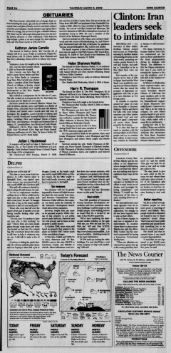 Athens News Courier, March 05, 2009, Page 4