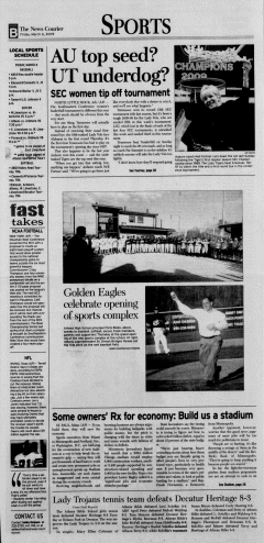 Athens News Courier, March 06, 2009, Page 25