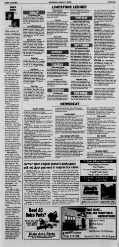 Athens News Courier, March 07, 2009, Page 9
