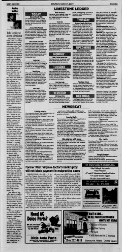 Athens News Courier, March 07, 2009, Page 10