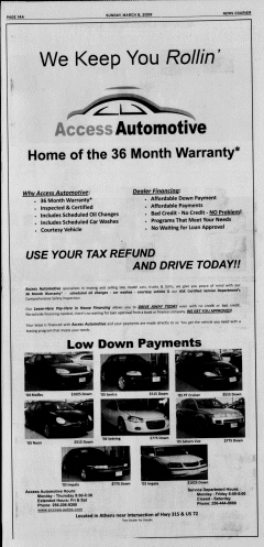 Athens News Courier, March 08, 2009, Page 27