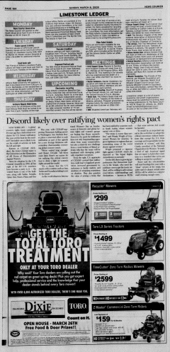 Athens News Courier, March 08, 2009, Page 35
