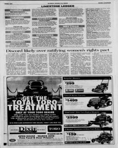 Athens News Courier, March 08, 2009, Page 36