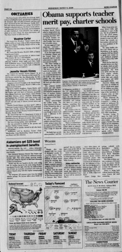 Athens News Courier, March 11, 2009, p. 3