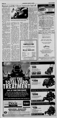 Athens News Courier, March 11, 2009, p. 19