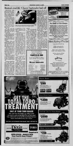 Athens News Courier, March 11, 2009, p. 20