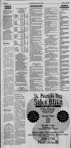 Athens News Courier, March 12, 2009, p. 19