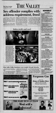 Athens News Courier, March 12, 2009, p. 8
