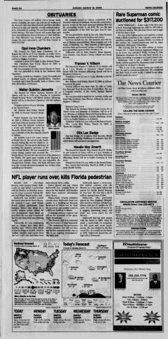 Athens News Courier, March 15, 2009, p. 4